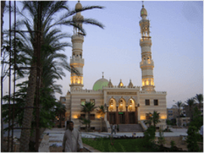 Al-Obour  Mosque, Egypt